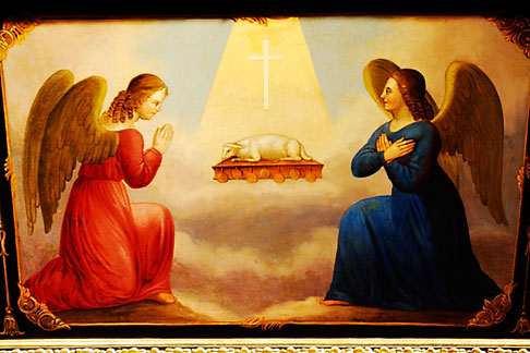 image 4-960-216 Religious Art, Painting of the Annunciation