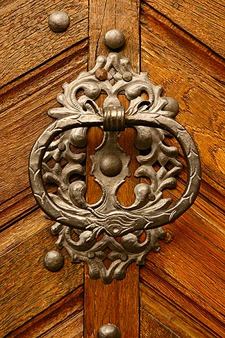 image 4-960-496 Czech Republic, Prague, Door knocker
