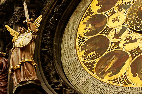 image 4-960-54 Czech Republic, Prague, Astronomical Clock, Old Town Square