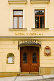 front door stock photography | Czech Republic, Prague, Embassy, image id 4-960-6297