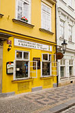 stone houses stock photography | Czech Republic, Prague, Street Scene, image id 4-960-6298