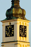 timepiece stock photography | Czech Republic, Prague, St. Nicholas Church tower, image id 4-960-6334