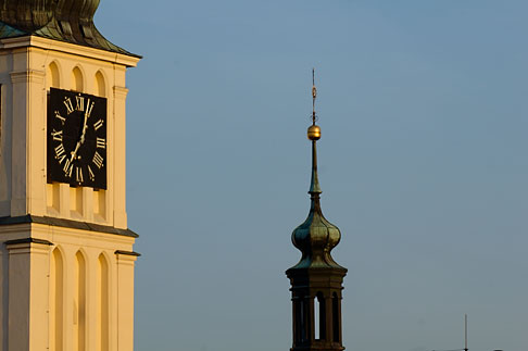 image 4-960-6353 Czech Republic, Prague, St Nicholas Church tower