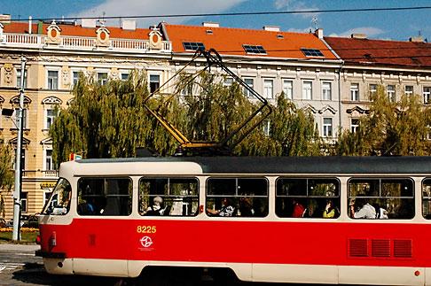 image 4-960-6496 Czech Republic, Prague, Mala Strana, tramcar