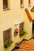 courtyard stock photography | Czech Republic, Prague, Inn, image id 4-960-6582