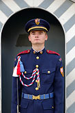 face stock photography | Czech Republic, Prague, Hradcany Castle, Castle guard, image id 4-960-6620