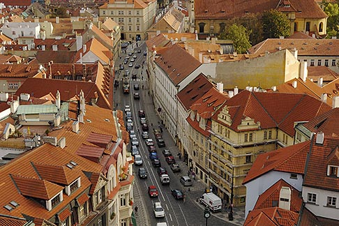 image 4-960-6732 Czech Republic, Prague, View from St Nicholas Church