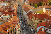 view from the roof stock photography | Czech Republic, Prague, View from St Nicholas Church, image id 4-960-6732
