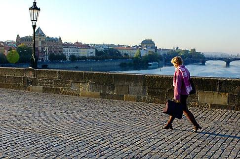image 4-960-6844 Czech Republic, Prague, Charles Bridge
