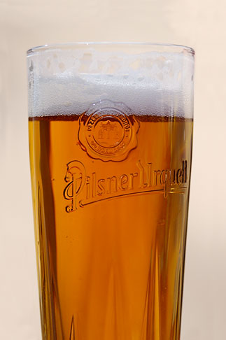 image 4-960-6908 Czech Republic, Czech, Glass of pilsner beer