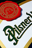 signage stock photography | Czech Republic, Czech, Pilsner beer, image id 4-960-6931