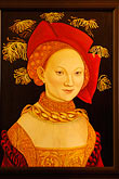 painting stock photography | Art, Medieval portrait of woman, image id 4-960-7255