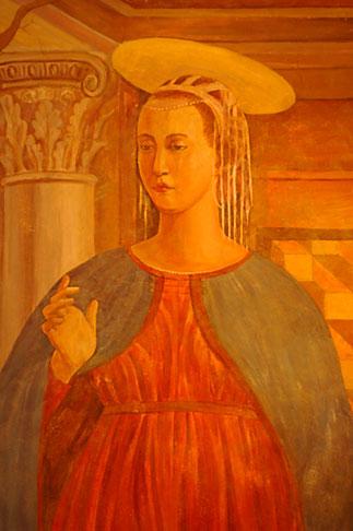 image 4-960-7267 Art, Medieval woman, portrait