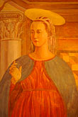 painting of the annunciation stock photography | Art, Medieval woman, portrait, image id 4-960-7267