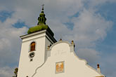 church steeple stock photography | Czech Republic, Volary, Church, image id 4-960-7311