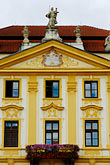 facade stock photography | Czech Republic, Pisek, Town Hall, image id 4-960-7336
