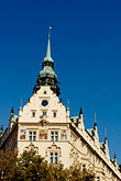 facade stock photography | Czech Republic, Prague, Paris Hotel, image id 4-960-7427