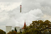 polluted stock photography | Czech Republic, Chvaletice, Power Plant, image id 4-960-7535