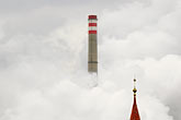 smoggy stock photography | Czech Republic, Chvaletice, Power Plant, image id 4-960-7549