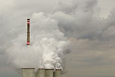 smoggy stock photography | Czech Republic, Chvaletice, Power Plant, image id 4-960-7581