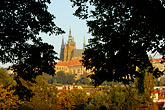 skyline stock photography | Czech Republic, Prague, Hradcany Castle, image id 4-960-760