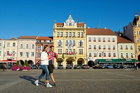 image 4-960-862 Czech Republic, Ceske Budejovice, Main Square