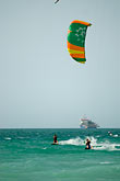 two people stock photography | United Arab Emirates, Dubai, Kiteboarding, image id 8-730-1487