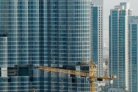 image 8-730-1525 United Arab Emirates, Dubai, Burj Dubai tower