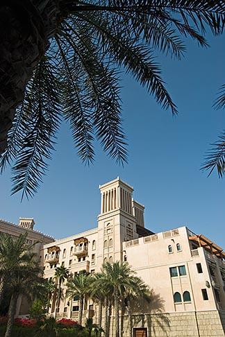 image 8-730-1728 United Arab Emirates, Dubai, Madinat Jumeirah shopping mall and hotel