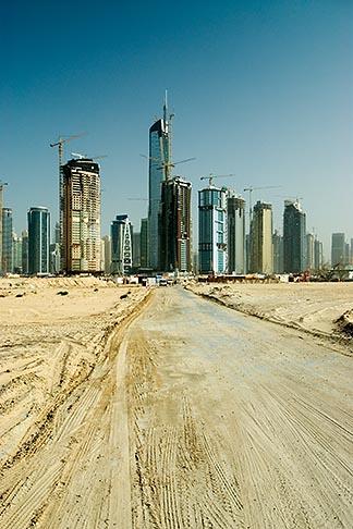 image 8-730-1735 United Arab Emirates, Dubai, Dubai Marina, Construction site