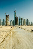 emirates towers stock photography | United Arab Emirates, Dubai, Dubai Marina, Construction site, image id 8-730-1735