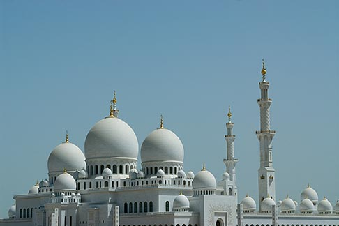 image 8-730-1745 United Arab Emirates, Abu Dhabi, Sheikh Zayed Mosque