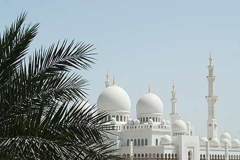 image 8-730-1750 United Arab Emirates, Abu Dhabi, Sheikh Zayed Mosque