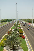 roadway stock photography | United Arab Emirates, Abu Dhabi, Divided highway between Abu Dhabi and Al Ain, image id 8-730-1753