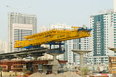 train stock photography | United Arab Emirates, Dubai, Dubai Metro construction site, image id 8-730-1882