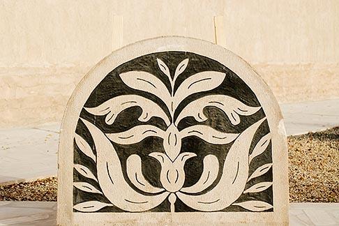 image 8-730-1931 United Arab Emirates, Dubai, Floral design stonework