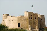 fort stock photography | United Arab Emirates, Fujairah, Fujairah Fort, built in 1670, oldest fort in the Emirates, image id 8-730-395