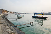 quiet stock photography | United Arab Emirates, Dubai, Dubai creek in early morning, image id 8-730-464