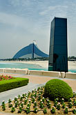 travel stock photography | United Arab Emirates, Dubai, Jumeira Beach Hotel from Burj Al Arab, image id 8-730-554