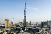 downtown stock photography | United Arab Emirates, Dubai, Burj Dubai construction site, image id 8-730-9041