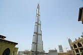 town stock photography | United Arab Emirates, Dubai, Burj Dubai tower, as of May 2008 the tallest man-made structure on Earth, image id 8-730-9228