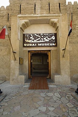 image 8-730-9409 United Arab Emirates, Dubai, Dubai Museum entrance