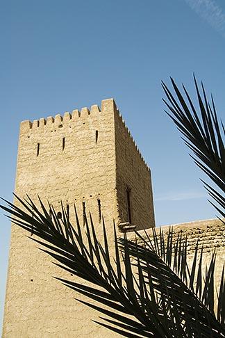 image 8-730-9434 United Arab Emirates, Dubai, Traditional wind tower, Bastakiya Quarter, restored historic site