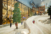 active stock photography | United Arab Emirates, Dubai, Ski Dubai, indoor toboggan run, image id 8-730-96