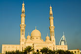 middle eastern stock photography | United Arab Emirates, Dubai, Mosque and minarets, image id 8-730-9602