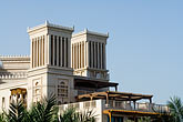 palm stock photography | United Arab Emirates, Dubai, Madinat Jumeirah shopping mall and hotel, image id 8-730-9639