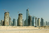 emirates towers stock photography | United Arab Emirates, Dubai, Dubai Marina, construction site, image id 8-730-9654