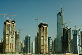 emirates towers stock photography | United Arab Emirates, Dubai, Dubai Marina, construction site, image id 8-730-9656