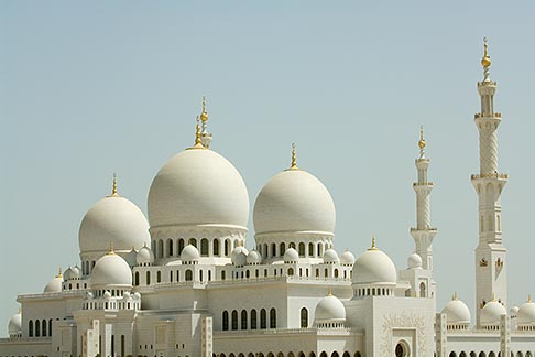 image 8-730-9690 United Arab Emirates, Abu Dhabi, Sheikh Zayed Mosque