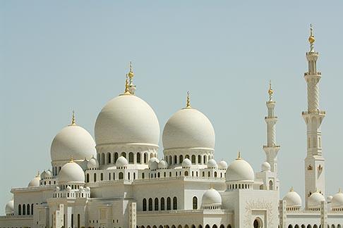 image 8-730-9690 United Arab Emirates, Abu Dhabi, Sheikh Zayed Mosque